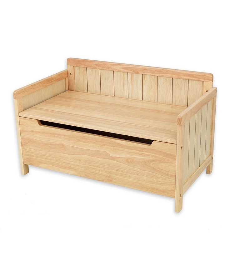 Natural charleston toy chest Build your own toy chest
