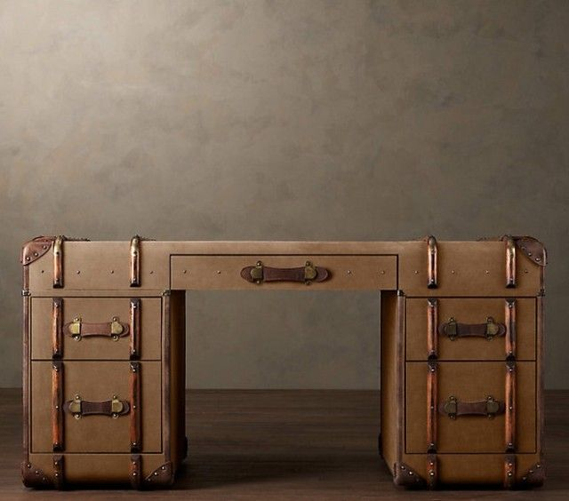 Furniture Made from Amazing Old Suitcases and Trunks - The Trunk ...