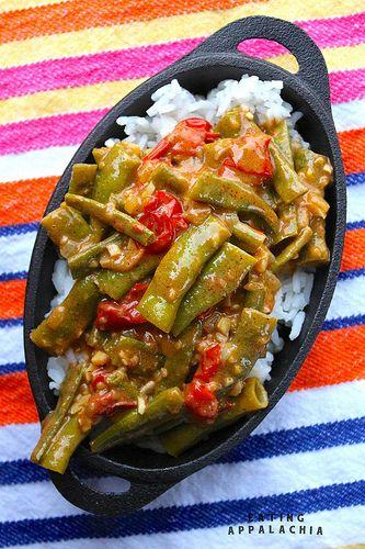 green beans masala bihari green beans masala recipes dishmaps the ...