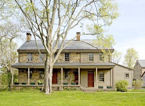 Exterior s Stone Farmhouse My Dream Home