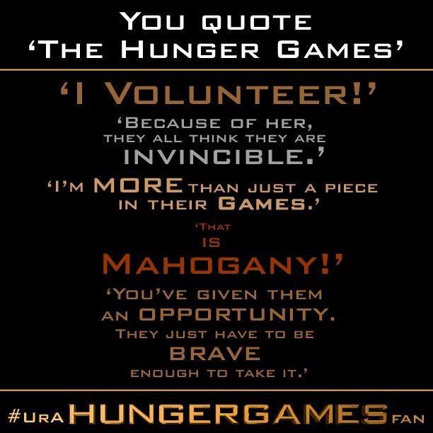 hunger games quotes the hunger games pinterest