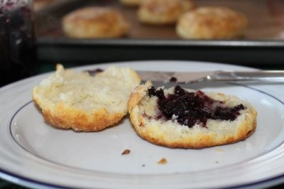 Sour Cream Drop Biscuits | Life on Food | Pinterest