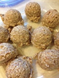 ve been on a real dessert ball kick lately: Cookie Dough Balls ...