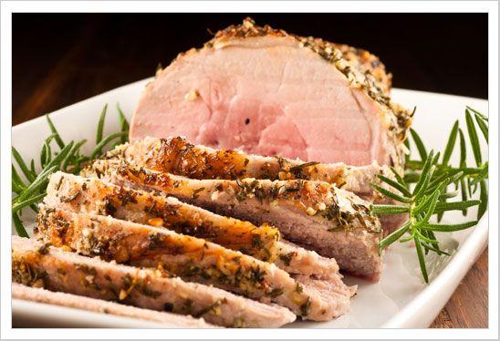 Pork sirloin roast | Secondi Piatti | Pinterest