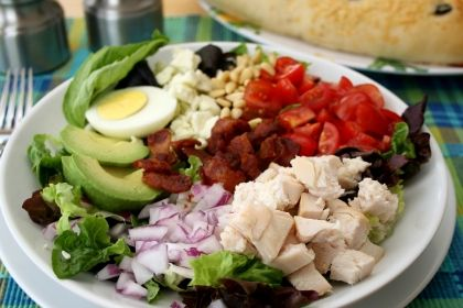 Cobb Salad with Rotisserie Chicken | MMMM MMM good... | Pinterest