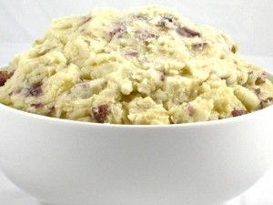 Skinny roasted garlic mashed potatoes   Yum...
