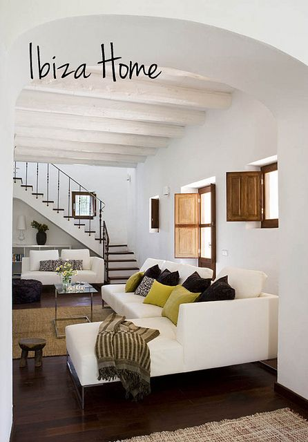 a home on ibiza, spain by the style files, via Flickr