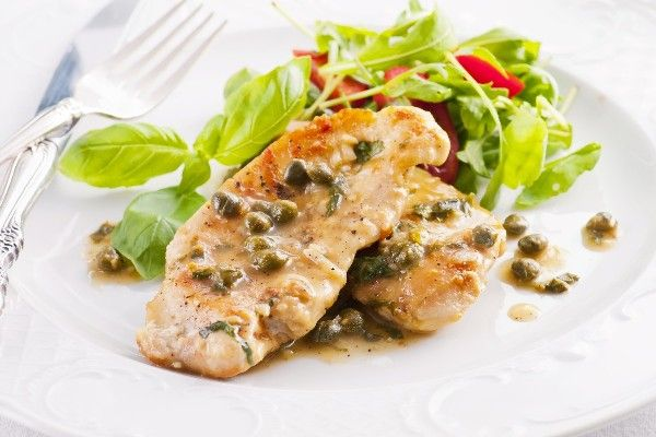 Chicken Piccata with Lemon Caper Sauce. Another pinner said....This is ...