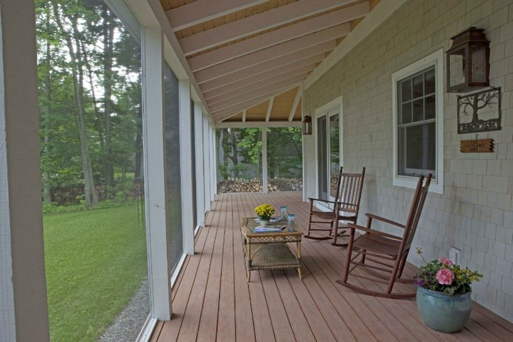 Wrap Around Screened In Porch Porch Pinterest