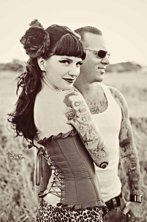 Rockabilly couple | Sweetheart Session for S & V | Pinterest