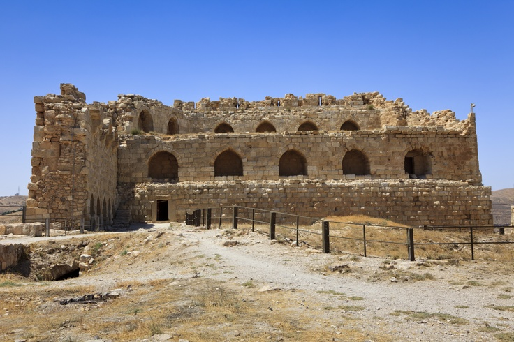 Karak Jordan  city images : Part of Karak Castle, Jordan saw this on the way from Amman to Petra ...