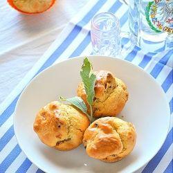 Savory bacon muffins. Yummylicious!