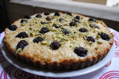 Blackberry Coconut Tart | Fifth Floor Kitchen Originals | Pinterest