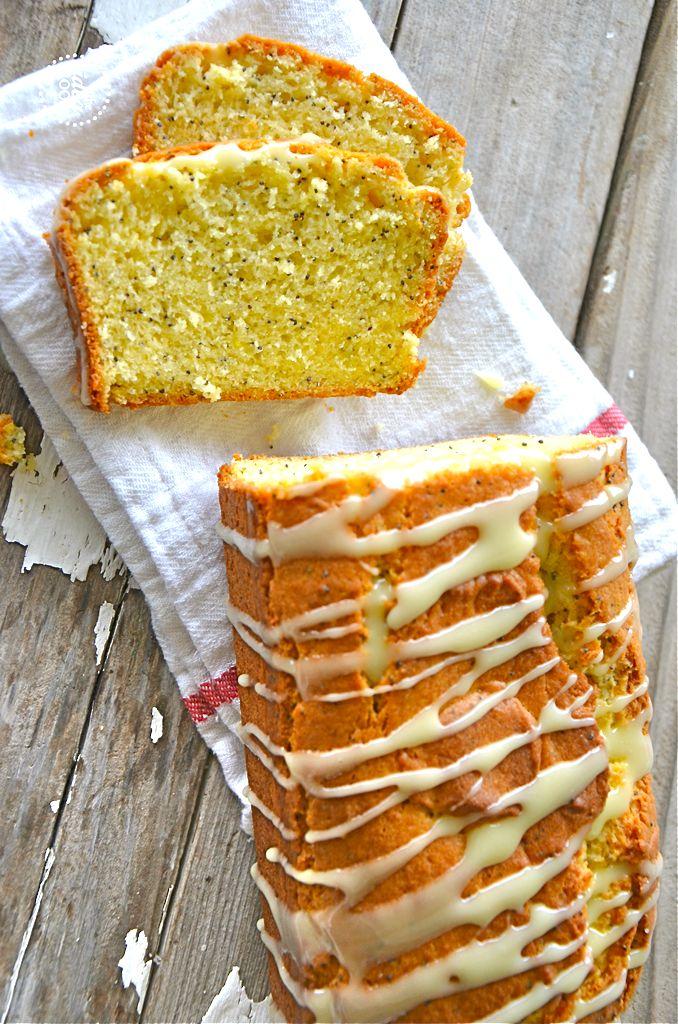 Glazed Lemon Bread | Gluten Free | Pinterest
