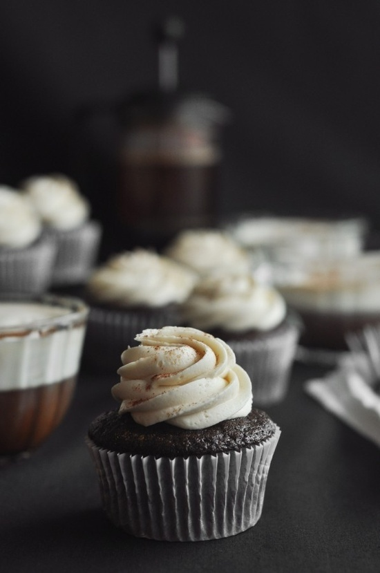 Irish Coffee Cupcakes | Inspired by Coffee | Pinterest