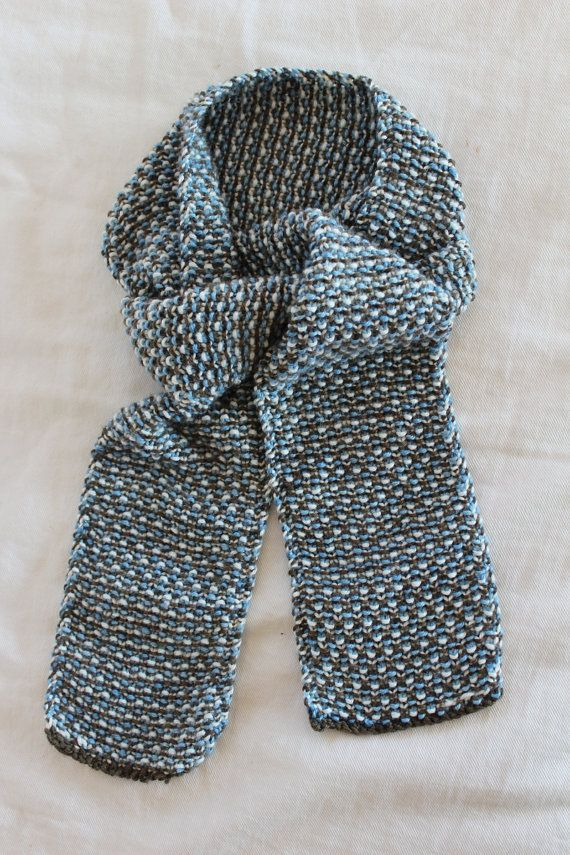 Knitting Pattern For Scarf For Toddler : Knitting PATTERN- Toddler Tweed Scarf PDF