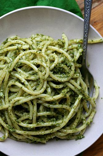Garlicky Stinging Nettle Pesto | Recipes - Entrees | Pinterest