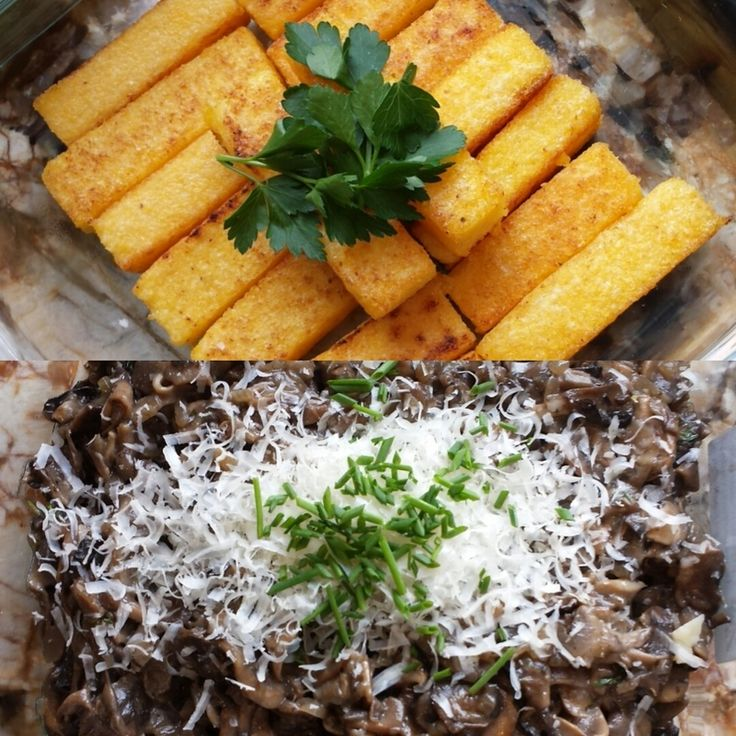 Polenta With Wild Mushroom Ragout Recipe — Dishmaps