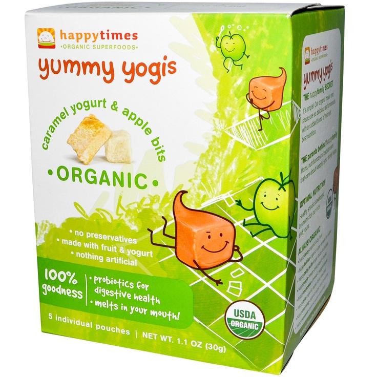Nurture Inc. (Happy Baby), Happytimes, Yummy Yogis, Organic Caramel Yogurt