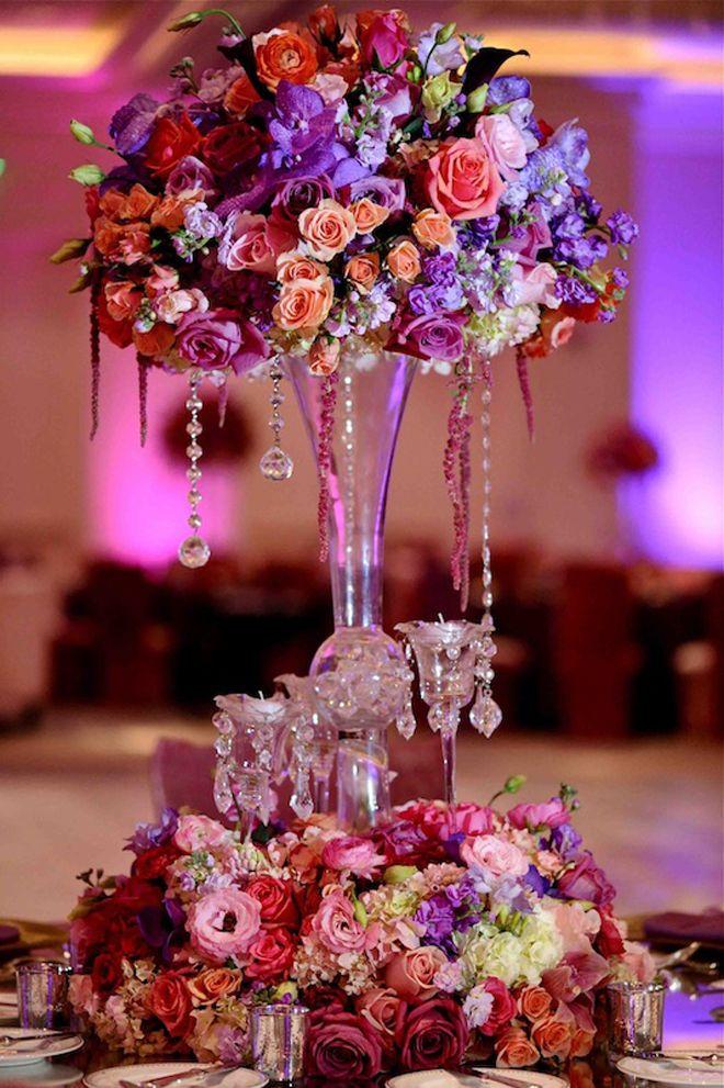 6 Statement Orchid Wedding Centerpieces pics