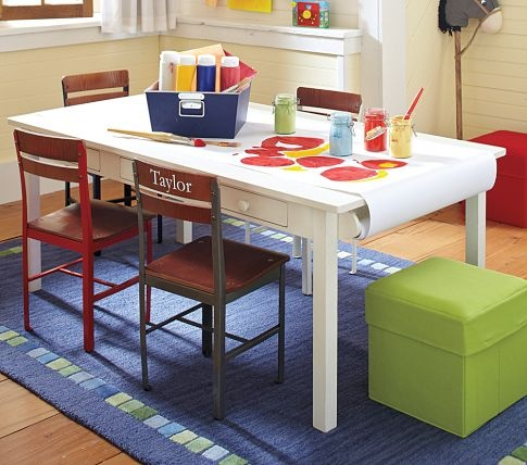 Craft Table DIY Kids Ideas Pinterest