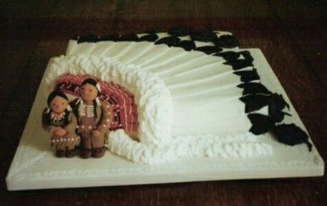 Native american wedding cake awesome cake creations for American wedding decoration ideas