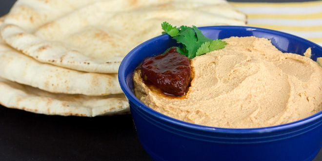 Spicy Chipotle Hummus | The Black Peppercorn