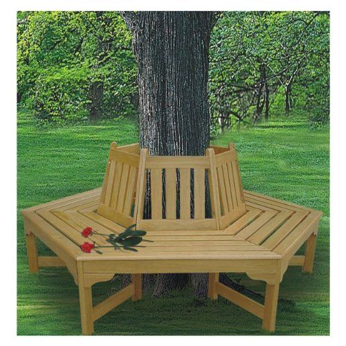 How To Build A Bench Around A Tree Diy Bigger Projects Pinterest