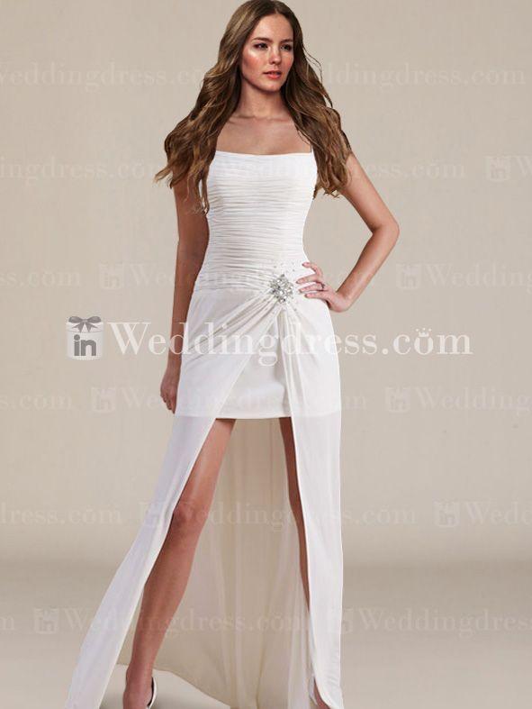 Summer Informal Bridal Dress Bc711