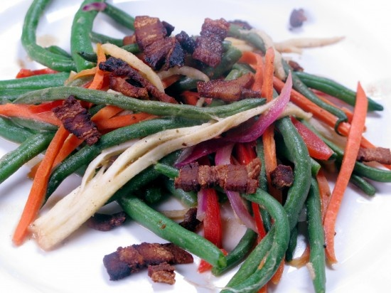 "green bean ""slaw"" 