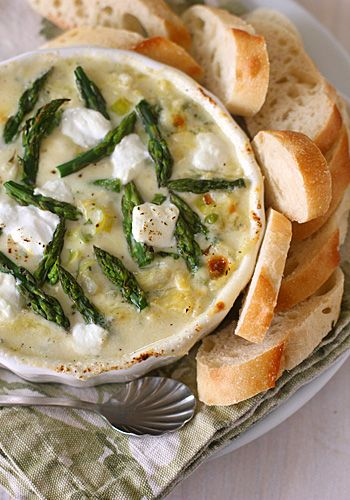 Spring Vegetable and Goat Cheese Dip | Fancy Fun Cooking | Pinterest