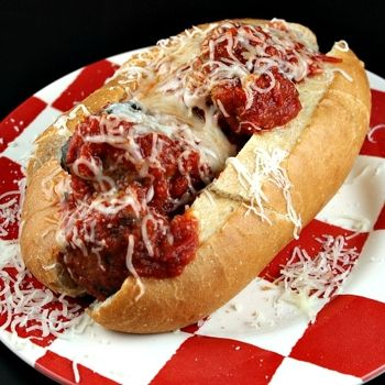 Homemade Meatballs- I have used these meatballs for subs as well as ...