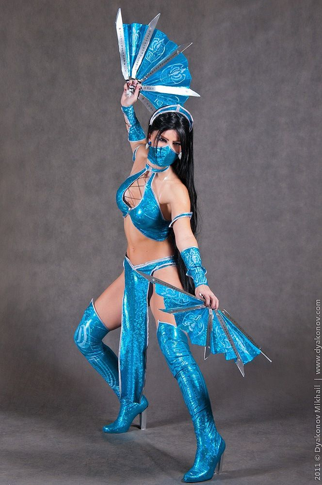 Kitana Cosplay Mortal Kombat By Nemu On Deviantart