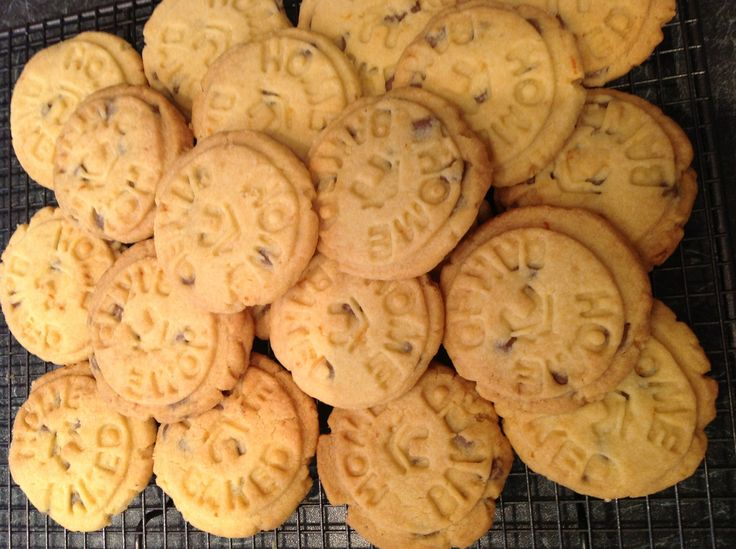 of Debbie McCrory Orange chocolate chip shortbread Shortbread cookies ...