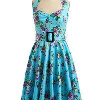 Enchanted Afternoon Dress | Mod Retro Vintage Printed Dresses | ModCloth.com
