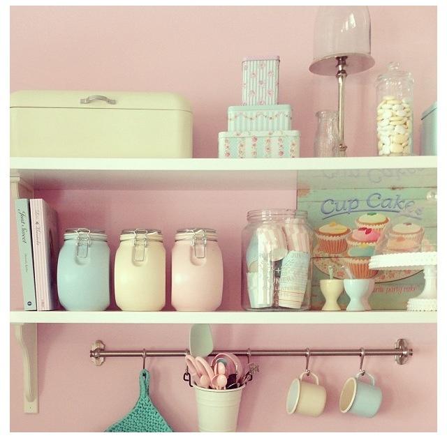 Pastel mason jars  Pastel  Pinterest
