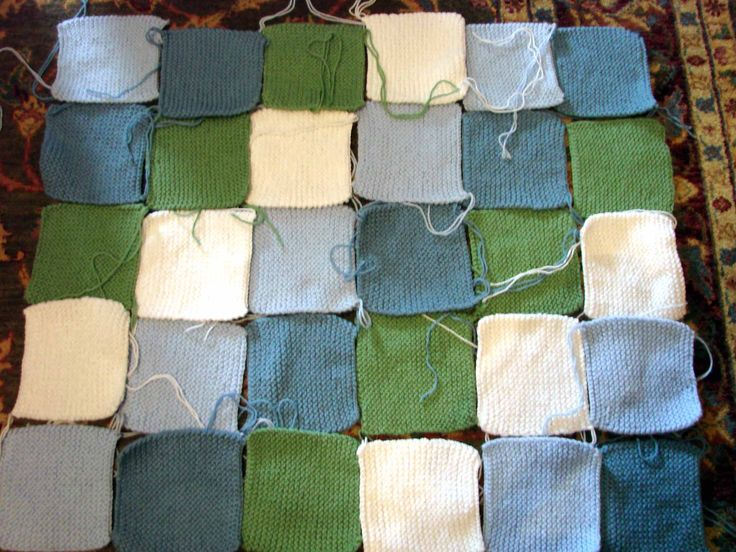 Blanket Stitch Knitted Squares Together : Pin by Alice Kwong on Crafts Pinterest