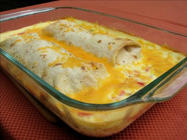 Make-Ahead Sausage And Egg Brunch Enchiladas Recipe - Food.com ...