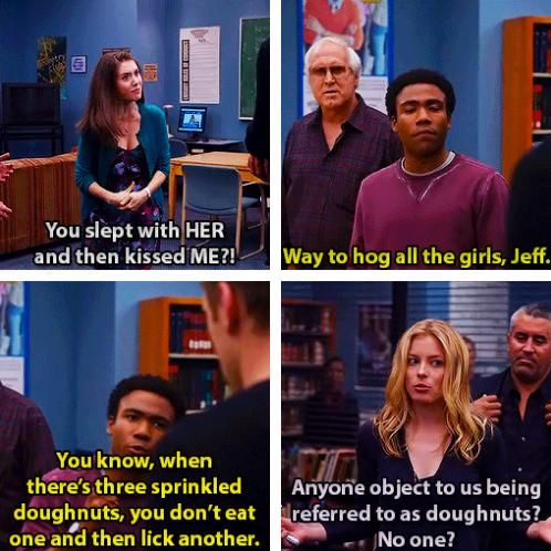 from community tv show quotes quotesgram