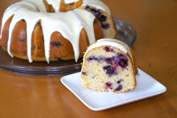 Lemon Blueberry Bundt Cake | Dessert | Pinterest