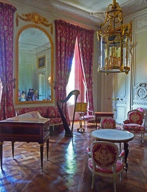Petit trianon interior vive la france pinterest for Interior designs by vickie