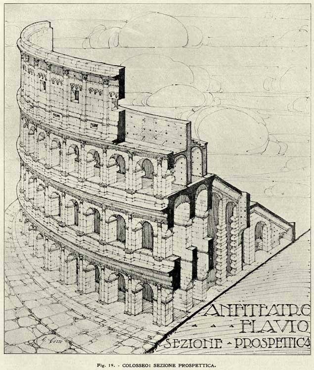 it was called the  Amphitheatrum Flavianum  or Flavian AmphitheaterFlavian Amphitheater Reconstruction