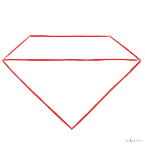 Basic Diamond: How To Draw A Diamond