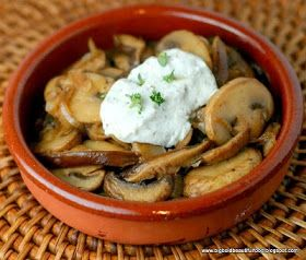 ... , Bold, Beautiful Food: Barcelona's Mushrooms with Herbed Goat Cheese