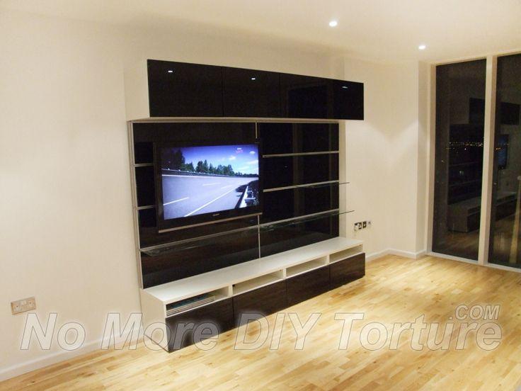 Besta Wall Cabinet Review : IKEABestaTVstoragecombination  home ideas  Pinterest