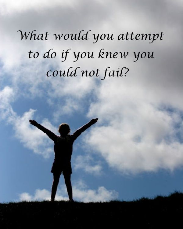 What would YOU attempt to do if you knew you could not fail? #quote #WorldofGood #EarthFootwear #ad