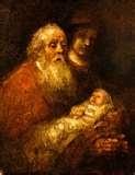 Simeon Holding the Christ Child