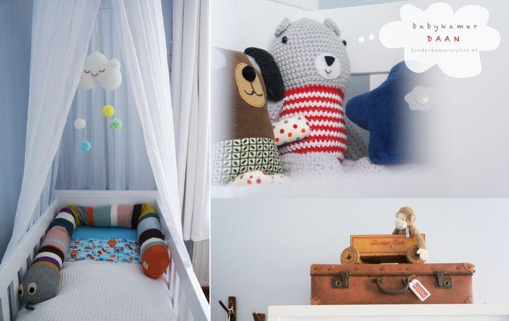 Kinderkamerstylist : Binnenkijken in de jongens #babykamer van Daan ...
