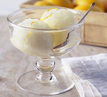 Italian Lemon Sorbet. Want to know how to make dead good lemon sorbet ...