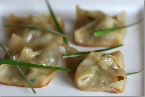 Pork and shrimp pot stickers | nibble | Pinterest
